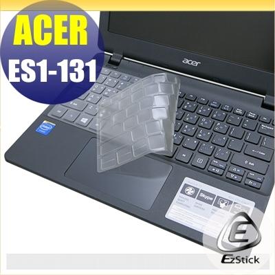 【Ezstick】ACER ES1-131 系列 奈米銀抗菌TPU鍵盤保護膜