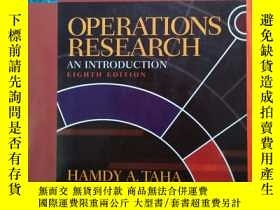 二手書博民逛書店OPERATIONS罕見RESEARCH AN INTRODUC