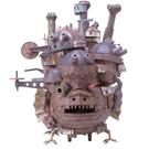 【發現.好貨】日本宮崎駿霍爾的移動城堡3D紙模 手工DIY紙模型日本動漫模型