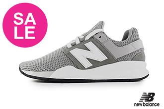 【出清下殺】New Balance 247 成人男女款 情侶鞋 限量時尚運動鞋 慢跑鞋 O8552#灰色◆奧森