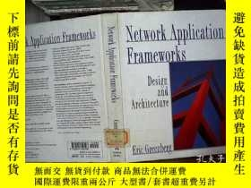 二手書博民逛書店Network罕見Application Frameworks