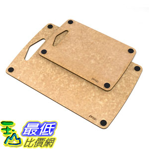 [美國直購] Epicurean 砧板 721-COMBO9-13 Prep Series Nonslip Cutting Boards Natural 9.5 X 6.5吋 13 x 8.5吋