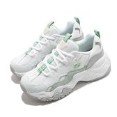 Skechers 休閒鞋 D Lites 3-High Alert 白 綠 女鞋 麂皮 皮革 運動鞋 【ACS】 88888210WMNT