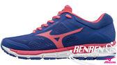 美津濃 MIZUNO 女慢跑鞋 WAVE SURGE (藍/桃紅) 慢跑鞋款 J1GF171960【 胖媛的店 】