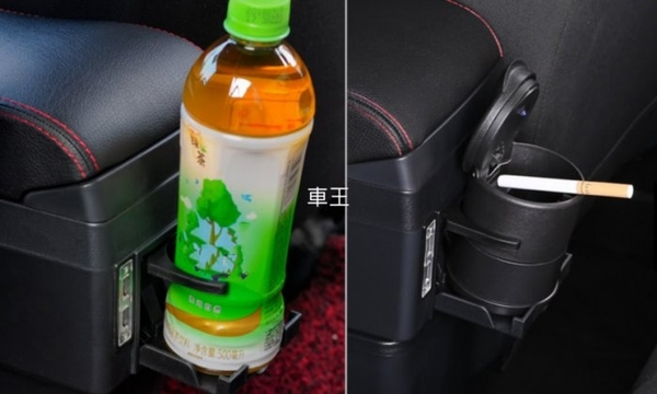 【車王汽車精品百貨】Nissan March 加大加高加寬 真皮 中央扶手箱