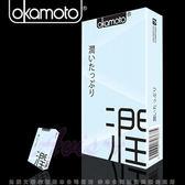 情趣用品-熱銷商品 衛生套 避孕套 Okamoto日本岡本-10入CITY 極潤型保險套 10片裝