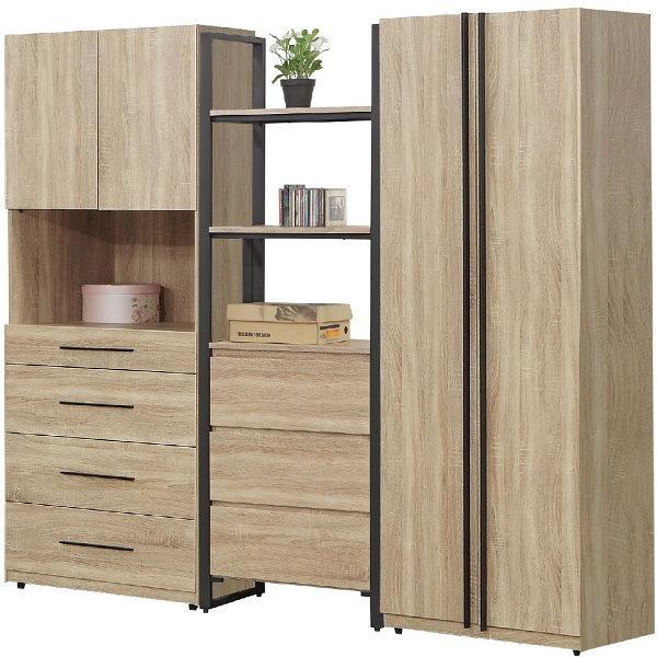 衣櫃 衣櫥 SB-544-1 哈佛7.7尺組合衣櫃【大眾家居舘】