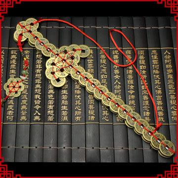 銅錢寶劍 掛件