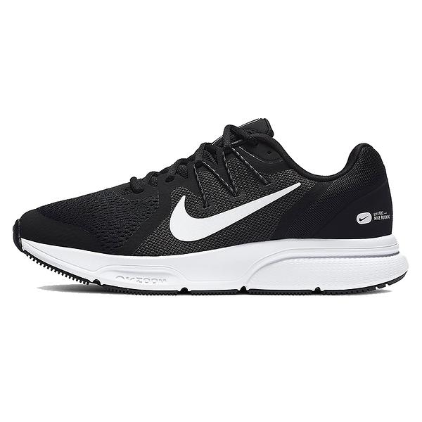 NIKE Zoom Span 3 男款慢跑鞋 運動 氣墊 舒適 避震 路跑 健身 球鞋 黑 白 CQ9269001
