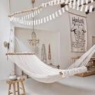 北歐風網狀吊床鞦韆室內室外民宿吊籃吊椅【聚可愛】