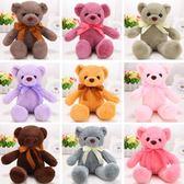 【2枚入】泰迪熊公仔毛絨玩具兒童生日禮物【奇趣小屋】