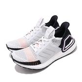 【六折特賣】adidas 慢跑鞋 UltraBoost 19 W 灰 黑 女鞋 運動鞋【ACS】 G27481