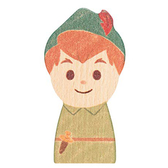 Disney KIDEA 迪士尼益智平衡積木 小木塊 小飛俠彼得潘_BD24345