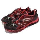 Merrell 戶外鞋 Capra Rapid 越野 慢跑 透氣 運動鞋 紅 黑 男鞋【PUMP306】 ML02445