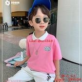 童裝男童POLO衫夏裝兒童中大童短袖T恤純棉潮牌【齊心88】