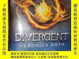 二手書博民逛書店Divergent罕見精裝Y266567 Veronica Roth(維羅尼卡·羅斯) 著 HarperCo