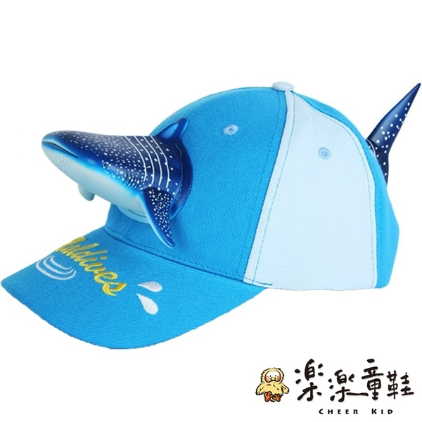 【樂樂童鞋】立體鯊魚親子帽 H017 - 親子帽 太陽帽 造型帽 表演帽 小孩配件 棒球帽