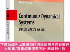 簡體書-十日到貨 R3YY【Continuous Dynamical Systems (英文版) (連續動力系統)】 97870...
