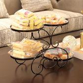 水果盤客廳果盤創意現代家用拼盤干果盤糖果盤歐式茶幾多功能塑料 st1694『伊人雅舍』