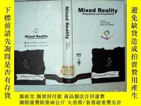 二手書博民逛書店Mixed罕見Reality 混合現實 16開 01Y26111