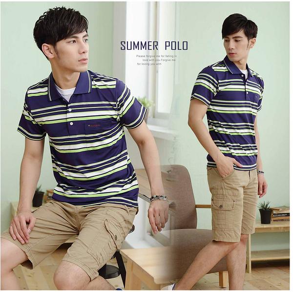 【大盤大】(C75503) 男 台灣製 涼感衣 吸濕排汗POLO衫 透氣 MIT 口袋 速乾 抗UV【剩M和L號】