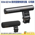 附防風罩及攜行包 SONY ECM-GZ1M 台灣索尼公司貨 指向型變焦麥克風 攝影機專用