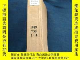 二手書博民逛書店College罕見& Research Library 1989 V50 1-6Y223356 Barbara