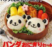 【發現。好貨】日本料理熊貓 圓仔飯糰便當模具組 DIY飯模 海苔壓花器 兒童最愛 野餐點心模具