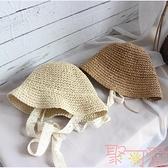 兒童漁夫帽男女嬰兒帽子遮陽韓版薄款【聚可愛】