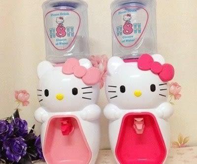 hello kitty 兒童飲水機 2L8杯水【藍星居家】