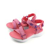 SKECHERS KIDS 涼鞋 童鞋 粉紅 86965LCRL no850