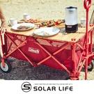 Coleman 四輪拖車專用蛋捲桌板/CM-38129.推車專用桌板 拖車木桌板 手拉車置物板 露營推車上蓋