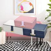 首飾盒公主木質飾品盒珠寶盒首飾收納盒耳釘耳環  創想數位
