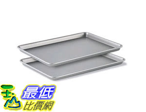 [105美國直購] 烤盤 Calphalon Nonstick Bakeware, Baking Sheet 2-Piece Set 1826034