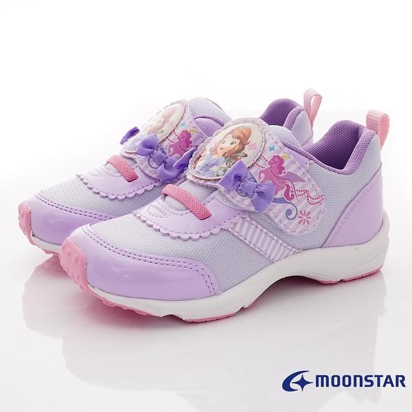 日本月星Moonstar機能童鞋迪士尼聯名系列12879紫(中小童段)