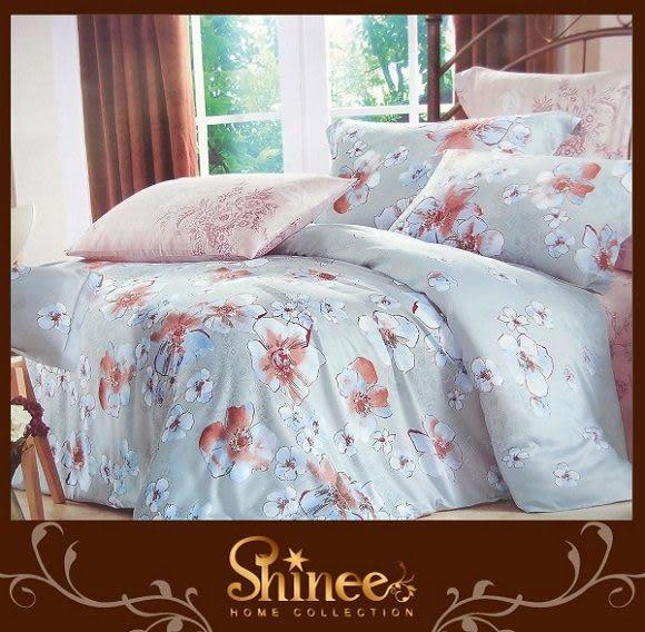 SHINEE《 悠閒雅致 》雙人正天絲四件式兩用被床包組