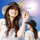 【杰妞】日本代購 2WAY後綁蝴蝶結防曬遮陽帽 99%抗UV