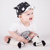 嬰兒帽子春款0-6-12個月鴨舌帽棒球帽男童女童棉質寶寶帽子春秋台秋節88折