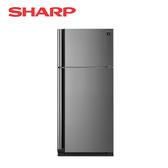 [SHARP 夏普]541公升 炫銀鋼板 變頻雙門電冰箱 SJ-SD54V-SL【加贈 東元14吋DC風扇XA1405BRD】