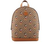 【GUCCI】GUCCI x DISNEY 米奇圖案小型後背包(棕色) 52884 HWUDM 8603 GU15000008