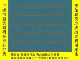 二手書博民逛書店The罕見Establishment ClauseY256260 Leonard W. Levy The Un