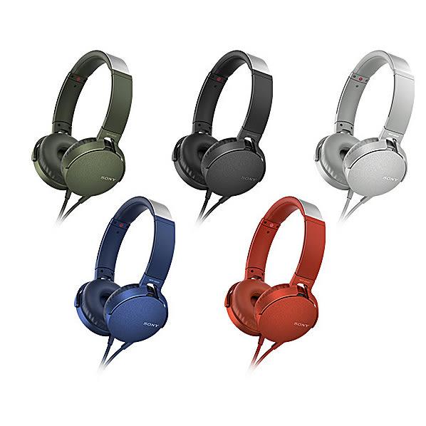 SONY MDR-XB550AP 耳罩式耳機 Super Bass