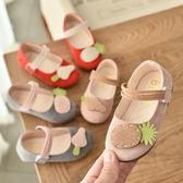 女童鞋公主小皮鞋軟底春夏季新款兒童單鞋魔術貼淺口寶寶鞋子 格蘭小舖