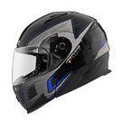 【東門城】ASTONE RT1000 AB16 (黑/藍) 可掀式安全帽 汽水帽 內藏墨片