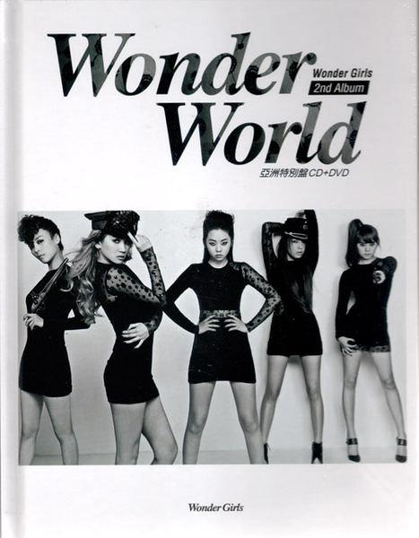 Wonder Girls Wonder World 亞洲特別版 CD附DVD Be My Baby G.N.O Stop