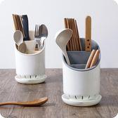家用筷籠廚房餐具收納架可拆卸塑料瀝水筷子架【3c玩家】
