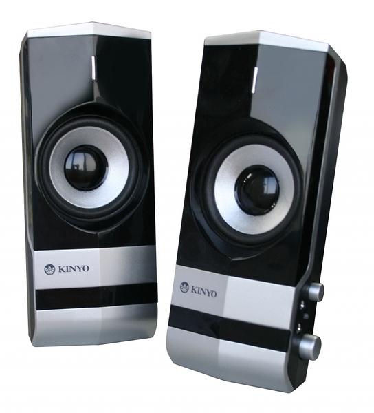 【鼎立資訊】KINYO 2.0 電腦 多媒體 擴大音箱 PS-292 可外接麥克風及耳機