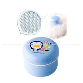 藍色企鵝 PUKU兔毛粉撲盒/痱子粉盒16301 好娃娃