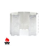 Wen Liang 鋁製擋風板 9703 / 城市綠洲 (炊具、廚具、戶外廚房、露營用品)