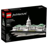 LEGO 樂高 Architecture 21030 United States Capitol (1032 Piece)
